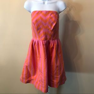 Lilly Pulitzer Strapless Party Dress VTG (8)